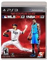 2K Sports Combo Pack - MLB2K13/NBA2K13 (PS3)
