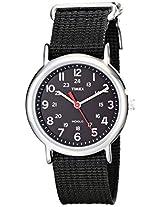Timex Weekender Indiglo Analog Black Dial Unisex Watch - T2N647