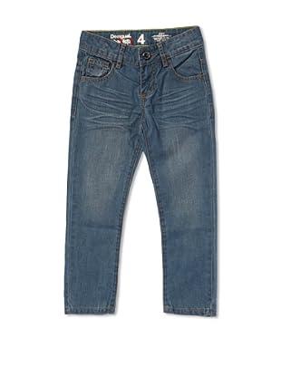 Desigual Pantalón Georgia (Azul Medio)