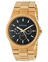 Titan Regalia Analog Black Dial Men's Watch - NE1532YM03