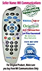 Original TATA SKY D2H SET TOP REMOTE (Works with Tata Sky Set top box)