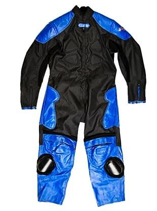 Kenrod Mono Aplicaciones y Piel (Negro / Azul)