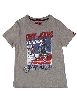 Pepe Jeans London Camiseta Gomer (Gris)