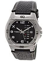 Timex Fashion Analog Black Dial Men's Watch - EL03