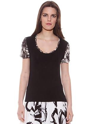 Conquista Camiseta Paloma (Negro)