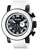red line Men's RL-50052-BB-01-WAS Xlerator Analog Display Japanese Quartz White Watch