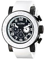 red line Men's RL-50052-BB-01-WAS Xlerator Analog Display Japanese Quartz White Watch