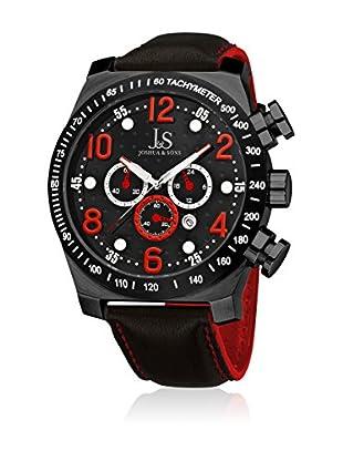 Joshua & Sons Reloj de cuarzo Man JS-14-RD 52 mm