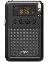 Eton Mini Compact AM/FM/Shortwave Radio, Black (NGWMINIB)