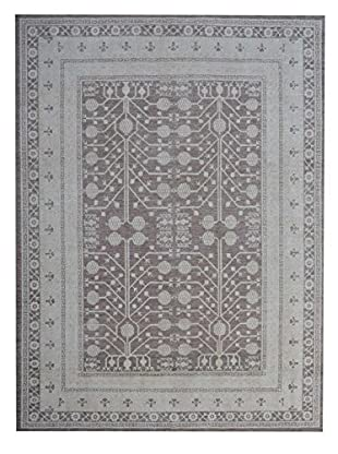 Kalaty One-of-a-Kind Pak Rug, Brown/Grey, 10' 2