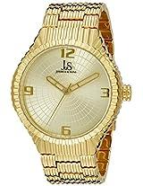 Joshua & Sons Men's JS99YG Analog Display Japanese Quartz Gold Watch