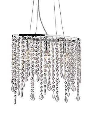 Evergreen Lights Pendelleuchte RAIN SP3 silberfarben