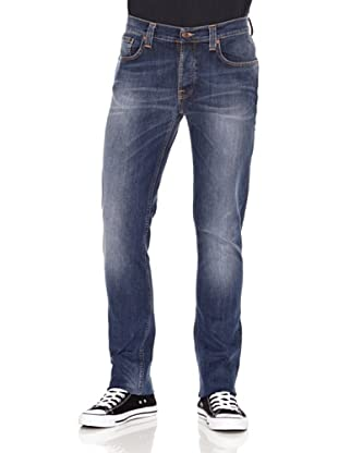 Nudie Jeans Pantalón Grim Tim (Azul)