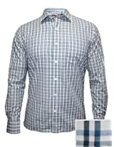 Peter England Green Checks Shirt