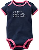 Dad's Lucky (Navy, 6M)