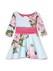 Mad Sky Girl's California Winter Dress (Floral Mix)