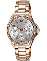 Giordano Analog Silver Dial Women's Watch - 2720-55