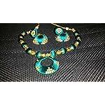 Green Fashion Jewellery Set