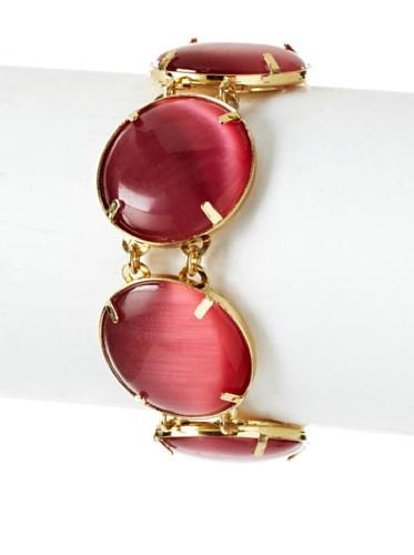 Tuleste Market Circle Bracelet, Gold/Pink