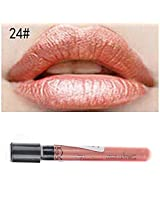 New Arrival Waterproof Elegant Daily Color Lipstick matte smooth lip stick lipgloss Long Lasting Sweet girl Lip Makeup (24)