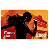 Apple iTunes Music �v���y�C�h�J�[�h 3,000�~ [MA782J/A]�A�b�v���ɂ��
