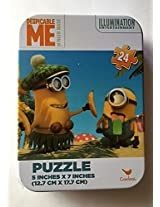 Despicable Me 24 Piece Jigsaw Puzzle in Travel Tin