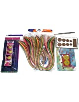 Quilling Tools and Strips Value Pack - 6 Tools and 1200 Quilling Strips Kit