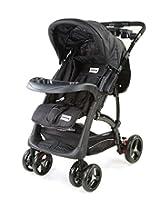 LuvLap Baby Stroller Pram Sports Black