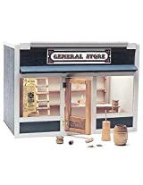Real Good Toys General Store Dollhouse Kit - 1 Inch Scale