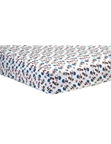 Trend Lab Dr. Seuss Cat and Things Crib Sheet