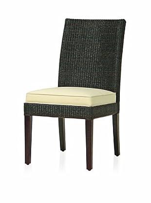 Palecek Hudson Loft Side Chair (Dark Brown)