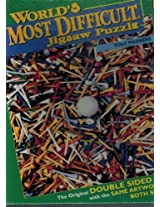 Worlds Most Difficult Jigsaw Puzzle Golf Madness By Buffalo Games