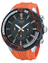 Pulsar Gents X Chronograph Orange and Black PT3511X1