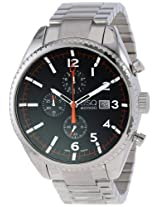 ESQ Movado Men's 07301427 esq CATALYST tm Black Dial Chronograph Watch