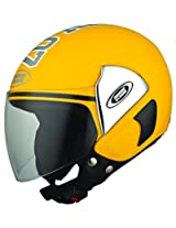 Studds Cub 07 Open Face Helmet (Yellow, L)