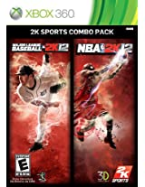 MLB 2K12/NBA 2K12 Combo Pack (Xbox 360)