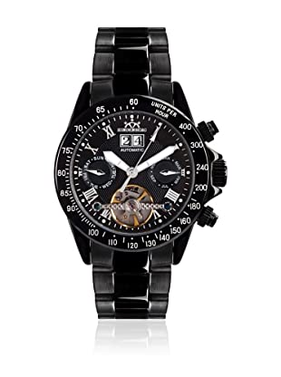 Hindenberg Reloj Hombre 310-H Air Thunder PVD Negro