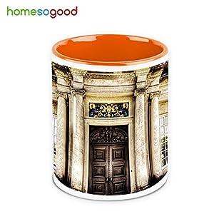 HomeSoGood Beautiful Mansion Coffee Mug