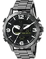 Fossil Nate Casual Analog-Digital Black Dial Men's Watch - JR1491