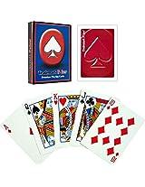 Trademark Poker Premium Playing Cards (Set of 6), Red