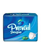 Prevail Breezers Adult Diapers - Large (72 Count)