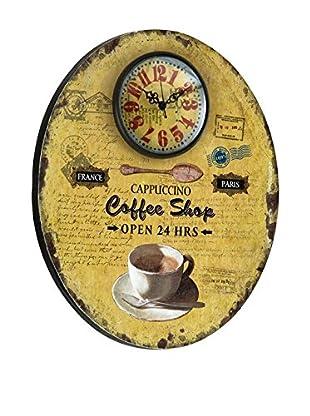 Deko Market Reloj De Pared Coffee