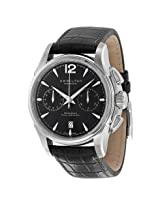 Hamilton American Classic Jazzmaster Chronograph Automatic Black Dial Men'S Watch - Hml-H32606735