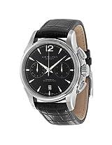 Hamilton American Classic Jazzmaster Chronograph Automatic Black Dial Men'S Watch - Hml-H32606735