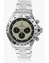 W Tw6008whp Transparent/White Chronograph Watch Toy Watch