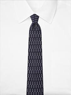 Hermès Men's Knots Tie, Blue, One Size
