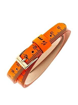 Ilmezzometro Pulsera Fluo (Naranja / Dorado)