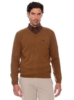 Pedro Del Hierro Jersey Basico Pico (marrón)