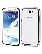 Callmate Bumper Case for Samsung Galaxy Note 2 N7100 (Black)
