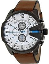 Diesel Analog White Dial Men's Watch DZ4280